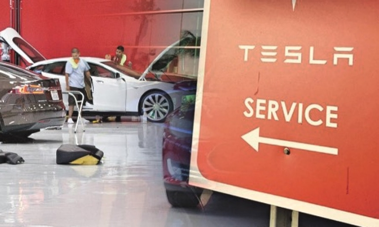 Tesla, too, sees service as central