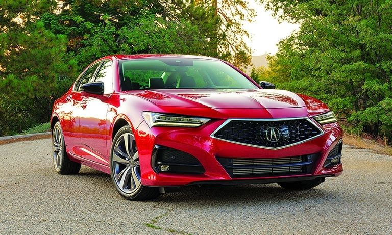 New generations of the TLX, left, and MDX will help Acura compete with rivals.