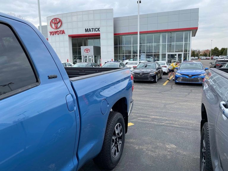 TOYOTA: June volume off 29%; Lexus down 10%