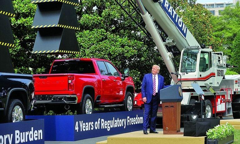 Presidential pickups