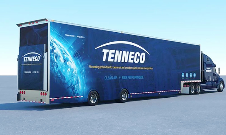 Tenneco posts $350M net loss in Q2; Adient loses $325M