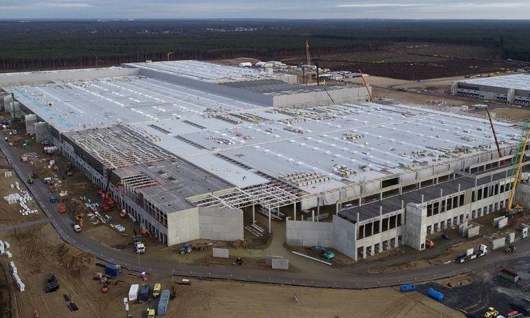 Tesla's factory near Berlin