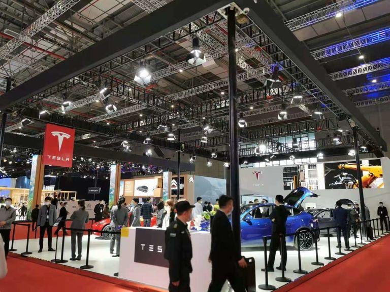 Tesla Shanghai show