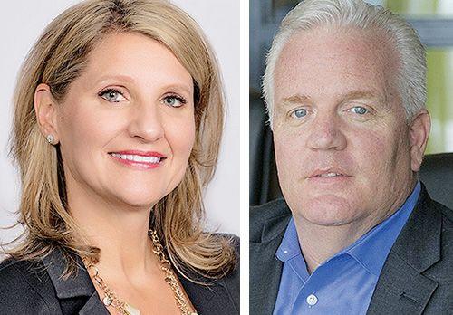 Cheryl Thompson and Glenn Stevens