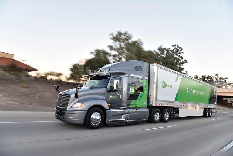 TuSimple launches autonomous freight network