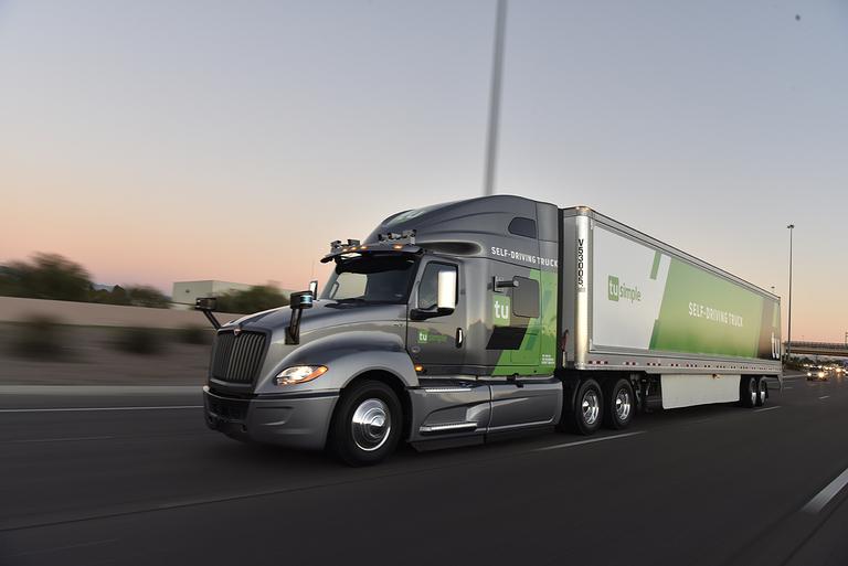 TuSimple, ZF partner on autonomous truck tech
