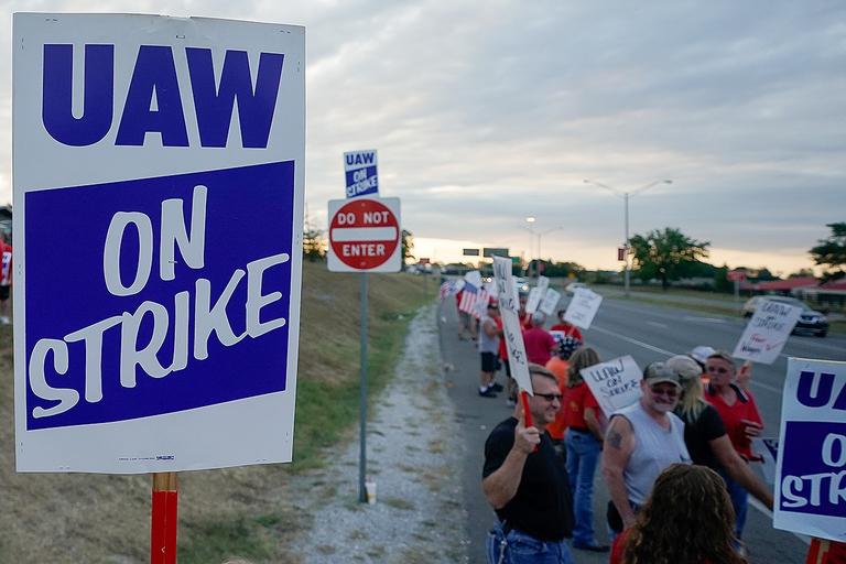 UAW strike drags on amid arrests, supplier cutbacks
