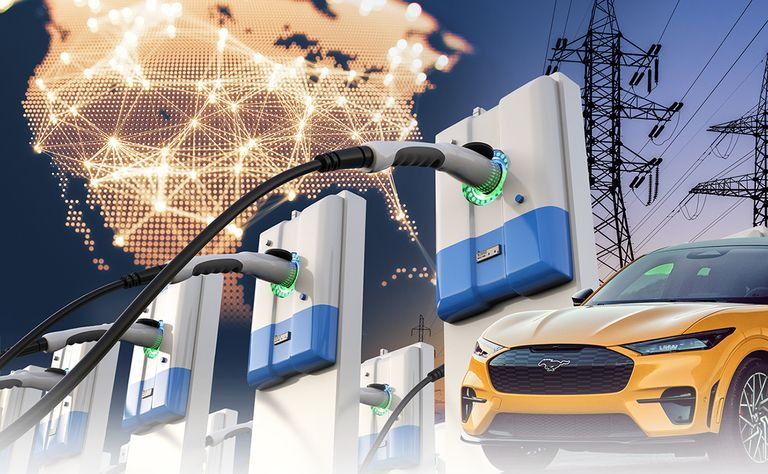 The U.S. charging infrastructure