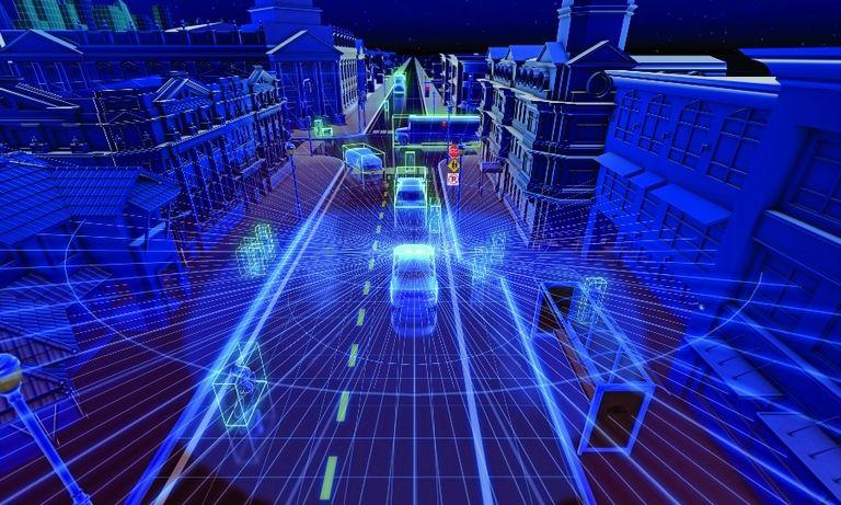 Velodyne's pedestrian automatic emergency braking system uses lidar and software to interpret lidar data.