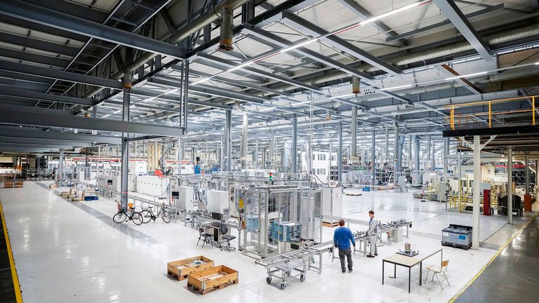 VW Salzgitter battery production