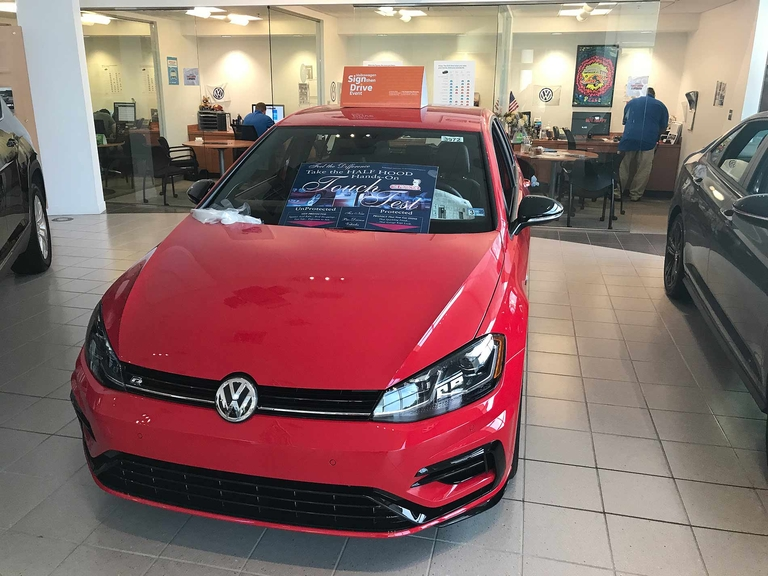 VW sales