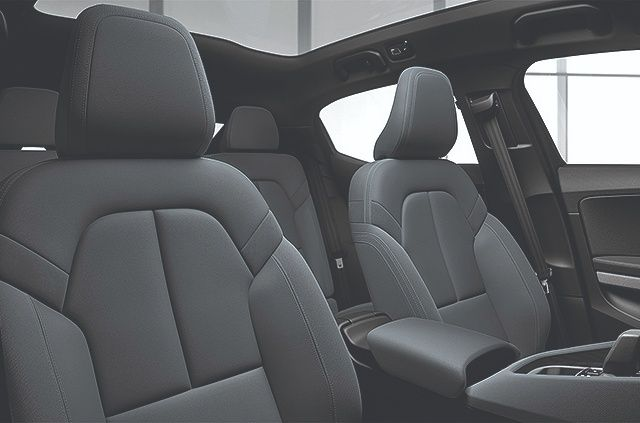 PETA gives the Polestar 2 props for its animal-free WeaveTech seat material.