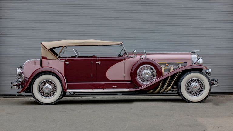 Duesenberg Model J, one of America's finest cars, arrives in 1928