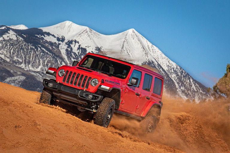 2021 Jeep Wrangler Rubicon 392: Riot on the rocks