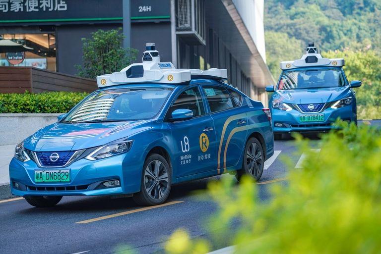 WeRide autonomous-vehicle testing