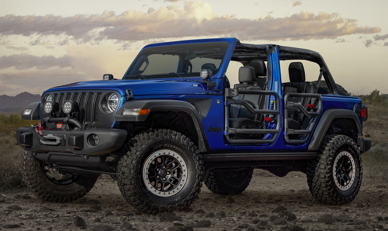 Mopar is debuting the Wrangler Jeep Performance Parts 20 limited edition variant at the Chicago Auto Show.