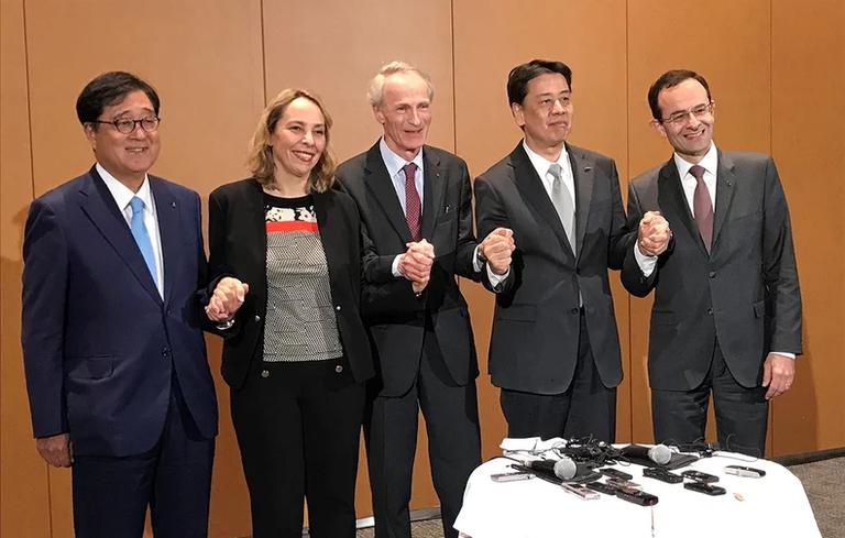Renault-Nissan-Mitsu divide up the world