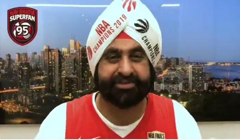 Toronto Raptors superfan and Hyundai dealer Nav Bhatia sees his celebrity status grow