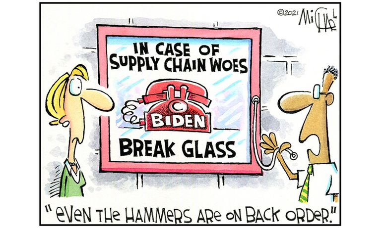 In case of supply chain woes, break glass