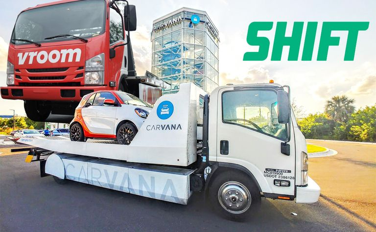 Carvana, Shift and Vroom expansion