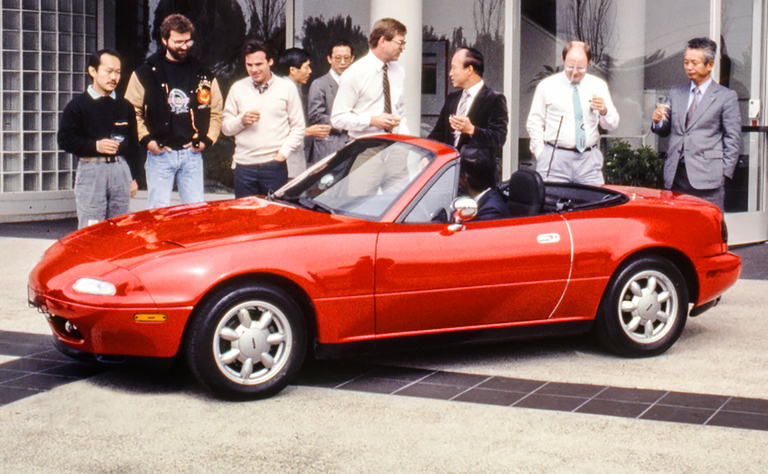 The Mazda MX-5 Miata over 4 generations
