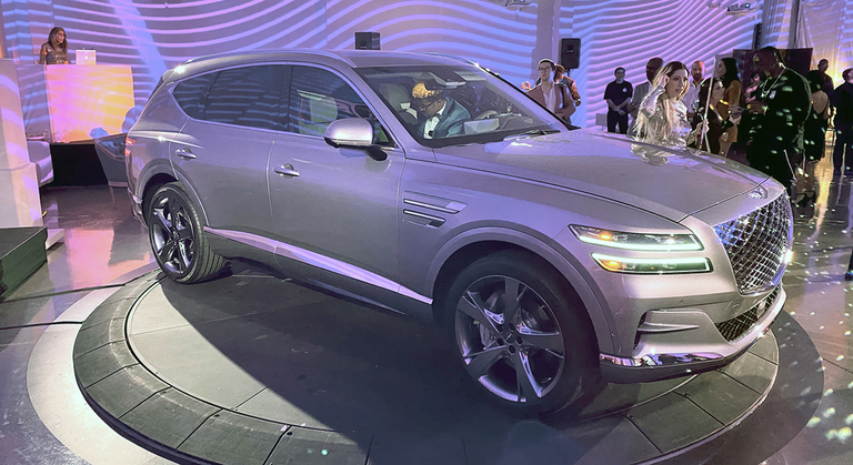 U.S. gets first up-close look at Genesis GV80 crossover