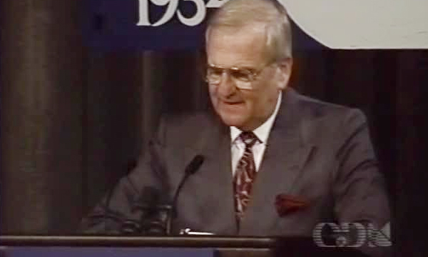 VIDEO: Lee Iacocca took on the Japanese in his 1992 Detroit Economic Club speech
