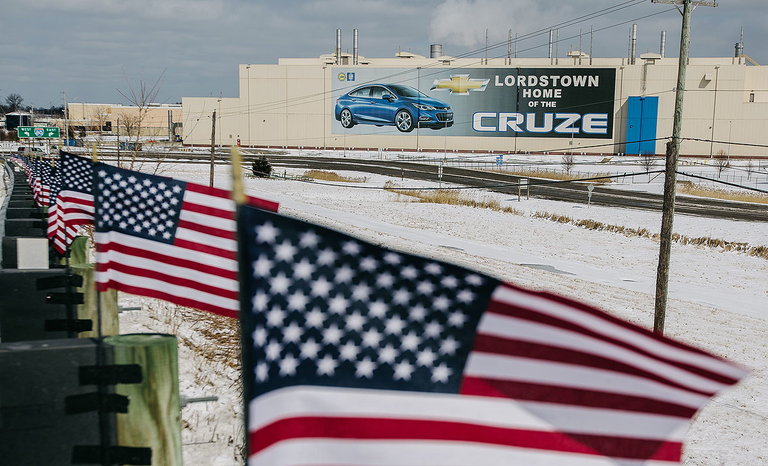 GM in March idled its plant in Lordstown, Ohio, as part of a massive restructuring to reduce North American capacity.