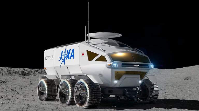 Toyota taps Lunar Cruiser as name for upcoming moon rover