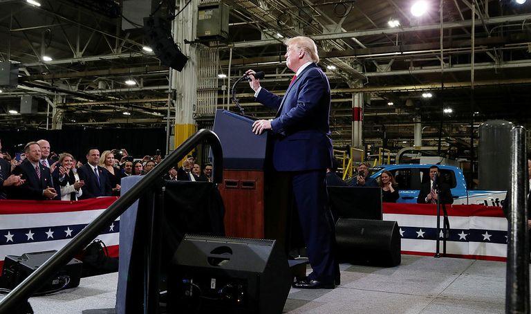 Trump at Dana