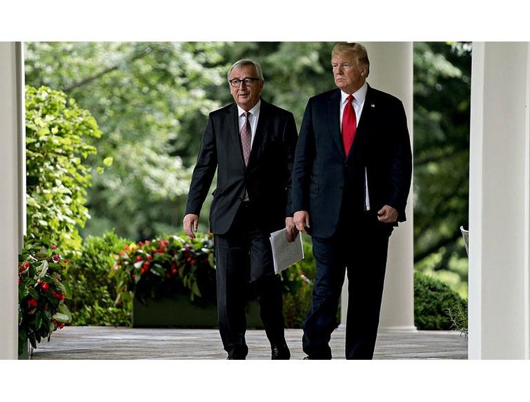 Juncker and Trump