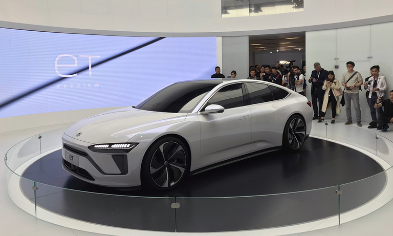 Nio teases upcoming sedan with ET Preview