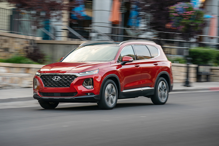 Word of a refreshed Hyundai Santa Fe drew applause from dealers.