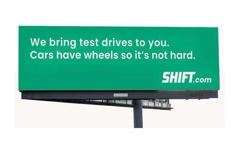 Shift billboard