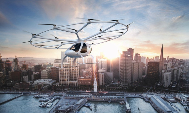 Volocopter - backed by Geely, Daimler - mulls air-taxi launch in Singapore