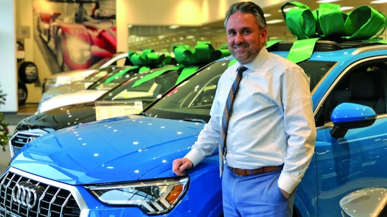 "The program is ""a good economic decision,"" says Audi Warwick General Manager Jason Burley."