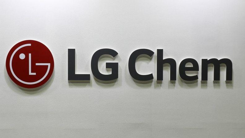 LG Chem sign