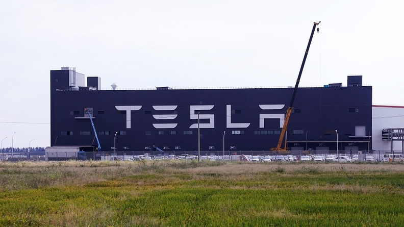 Tesla's Shanghai plant