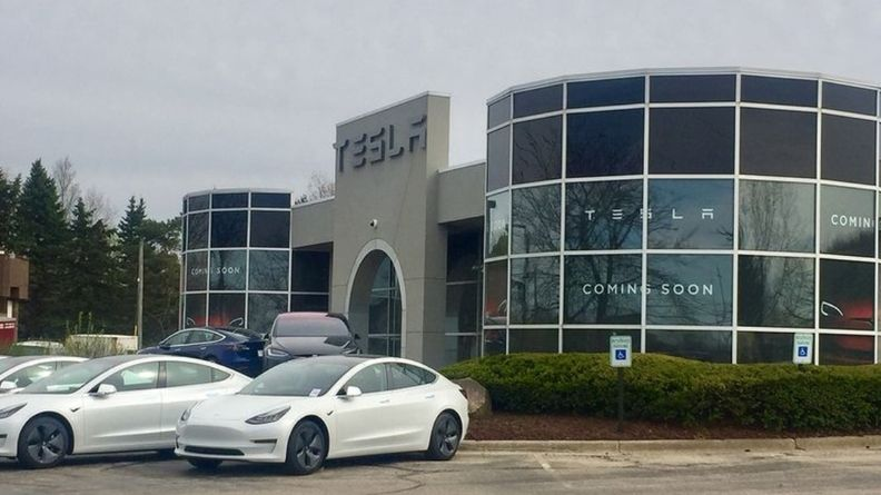 Tesla Michigan