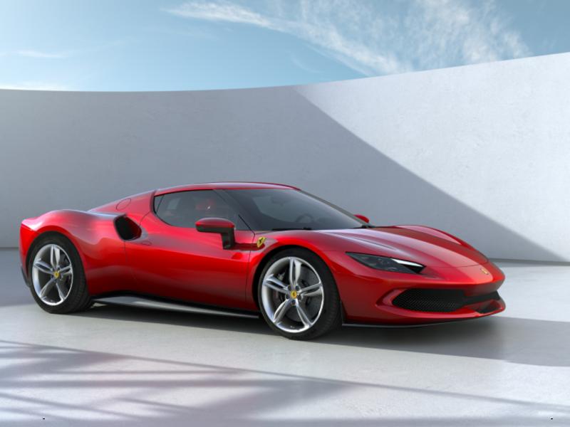 Ferrari 296 GTB draws on new V-6, plug-in hybrid tech to reach new levels of power thumbnail