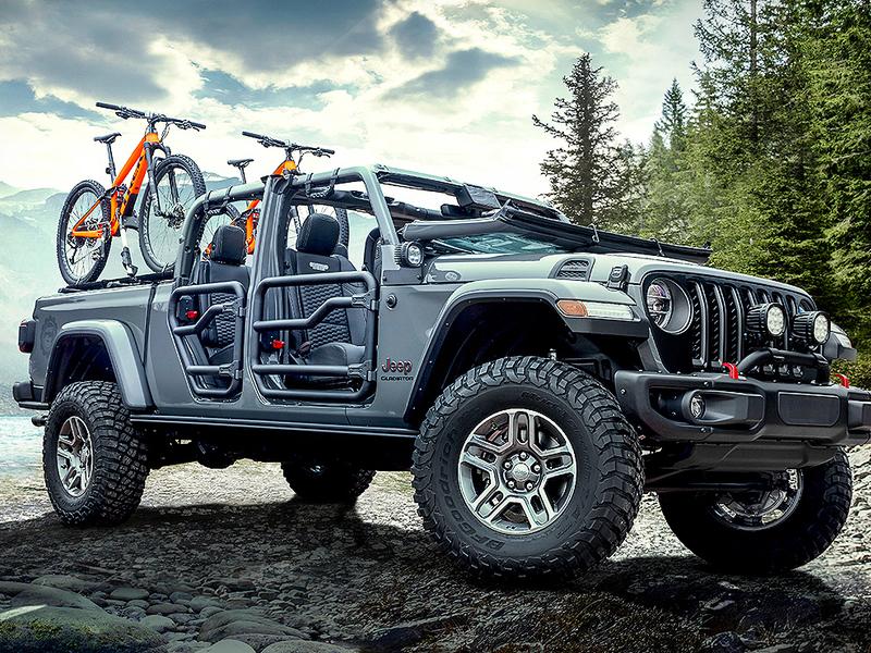 Gravity Auto Sales >> Jeep Gladiator could edge Wrangler as FCA's accessory champion