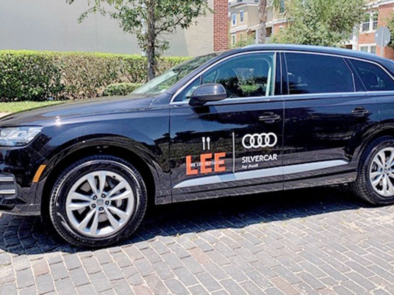 Audi's unused fleet vehicles a Silvercar lining for charities