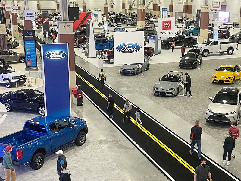 Regional auto shows still draw millions