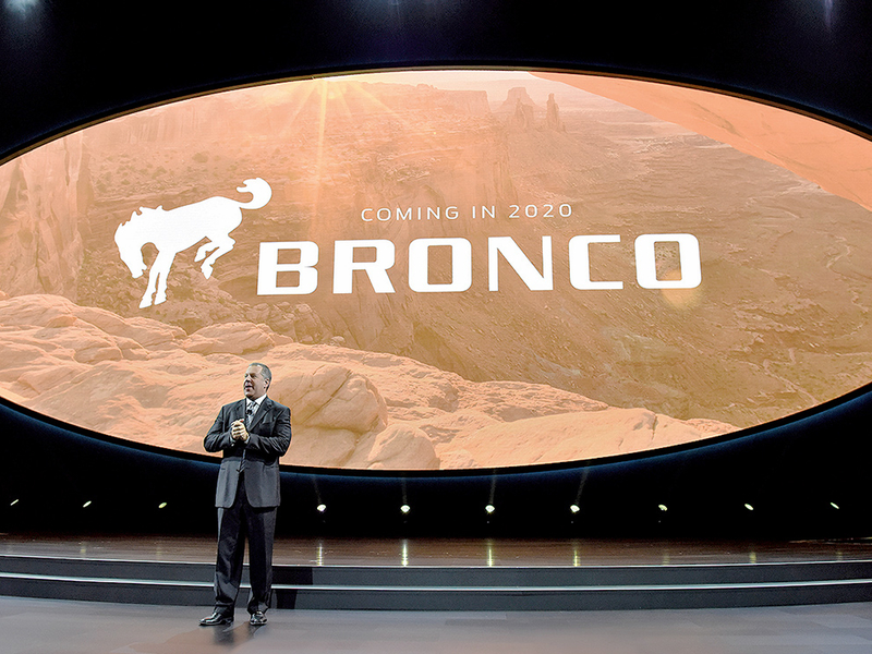 Dealers get a glimpse of Bronco prototype
