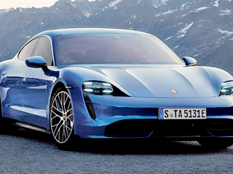 Porsche disrupts itself with electric Taycan