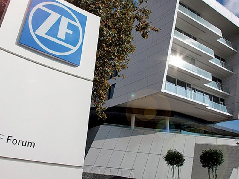 ZF cuts profit outlook on auto sector slowdown
