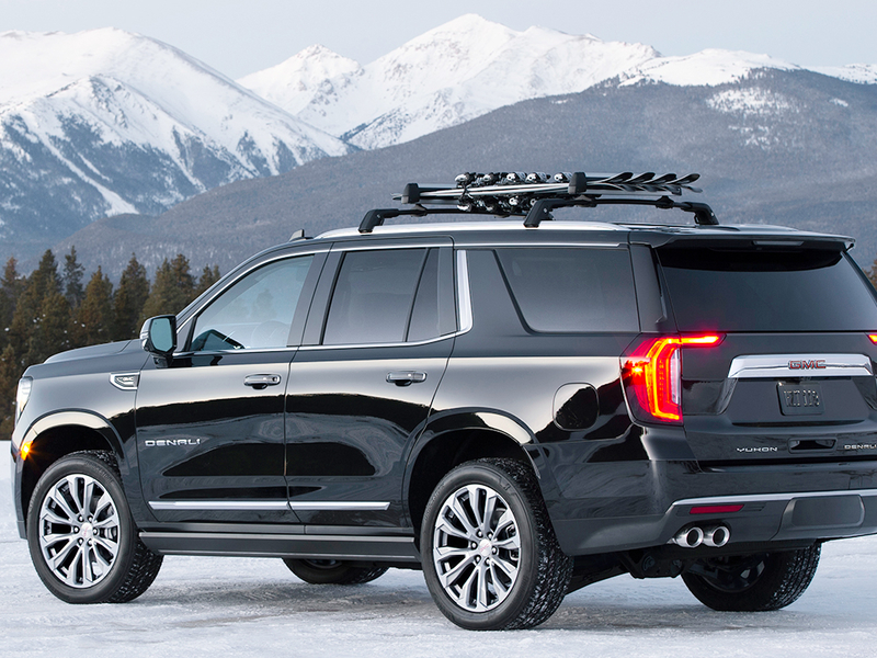 redesigned gmc yukon yukon xl gain space tech in 2021