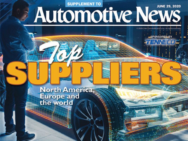 Here S Automotive News Annual Ranking Of Top Suppliers