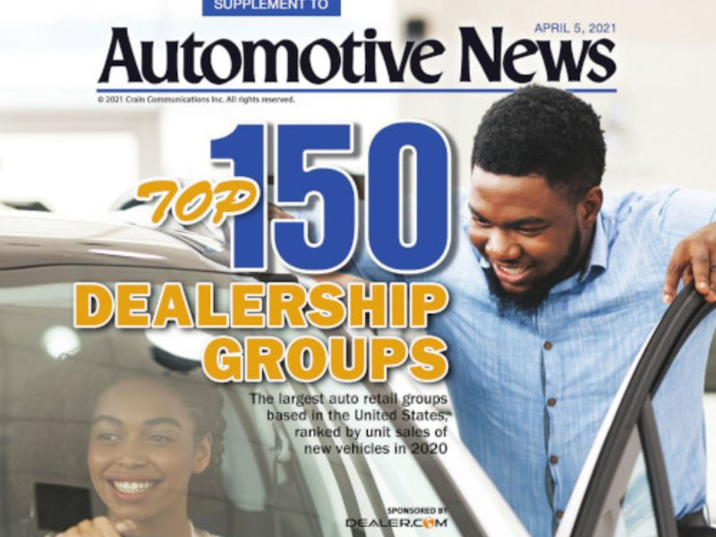 Here's our annual ranking of the largest U.S. dealership groups thumbnail