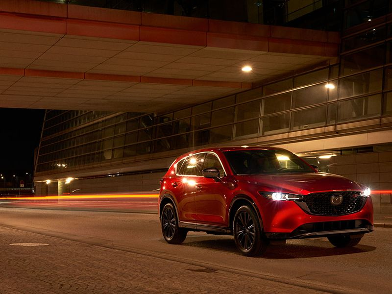 Mazda freshens CX-5, adds standard awd to crossovers thumbnail